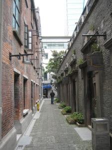 The Shikoumen of Xintiandi