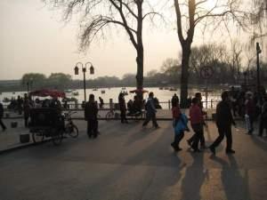 Beihai Park in the middle of Beijing